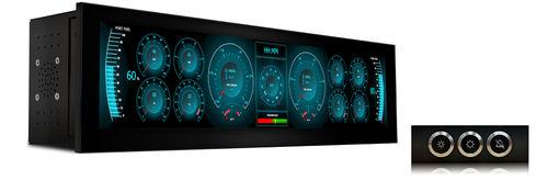 level indicator / for boats / analog / engine