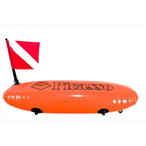 dive buoy / inflatable / PVC