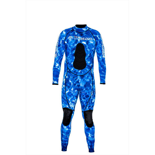 spearfishing wetsuit / one-piece / hooded / 1.5 mm