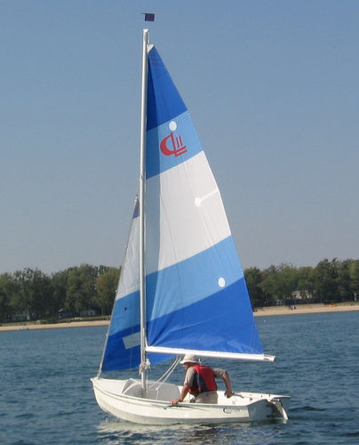 double-handed sailing dinghy / recreational
