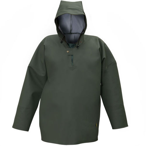 professional sailing smock / unisex / waterproof / hooded