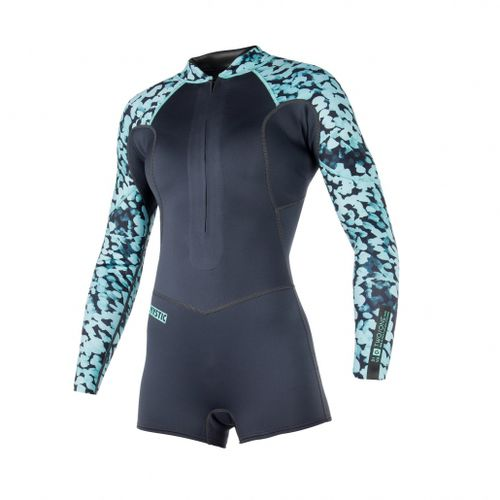 watersports wetsuit / long-sleeve / shorty / 2 mm