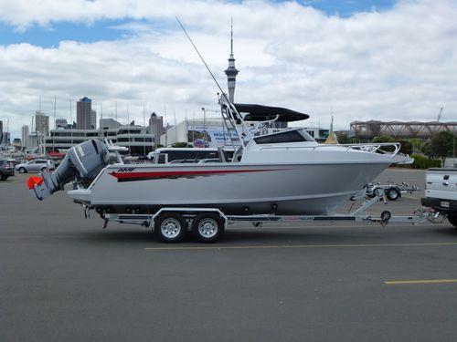 outboard cabin cruiser / open / sport / sport-fishing