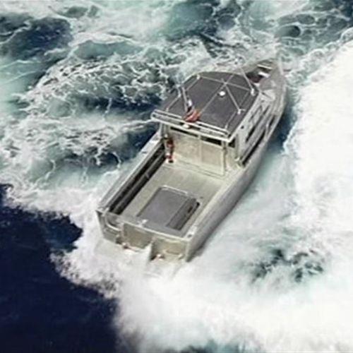 utility boat / inboard waterjet