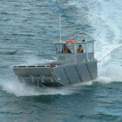 landing craft / outboard / aluminum
