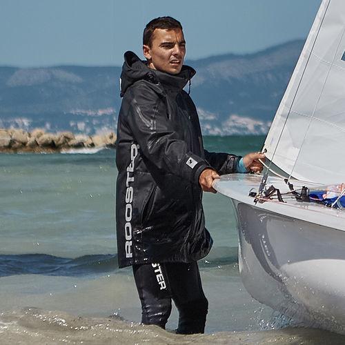 coastal sailing jacket / breathable / waterproof / fleece