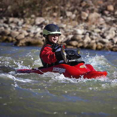 rigid kayak / freestyle / solo / child's
