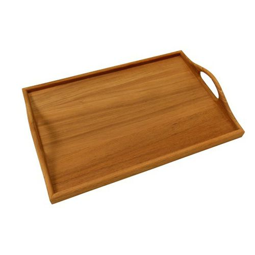 wooden drink holder tray