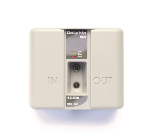 automatic boat battery coupler - DOLPHIN CHARGER