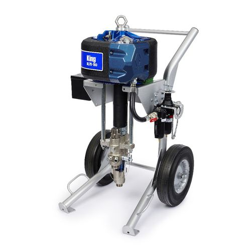 mobile paint spraying machine / shipyard