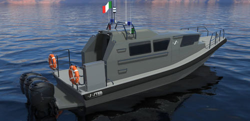 patrol boat / work boat / passenger boat / rescue boat