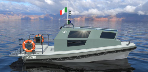 patrol boat professional boat / work boat / passenger boat / military boat