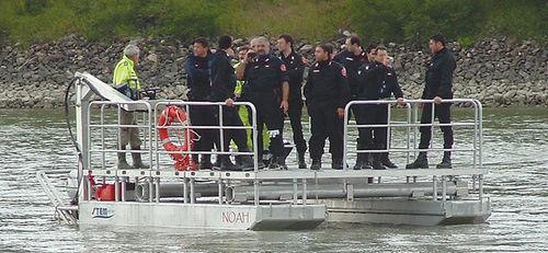 rescue boat professional boat / catamaran / outboard / aluminum