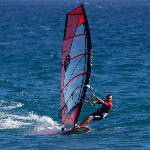 freeride windsurf sail / 5-batten