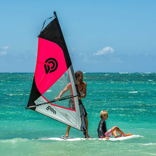 beginner's windsurf sail / 1-batten