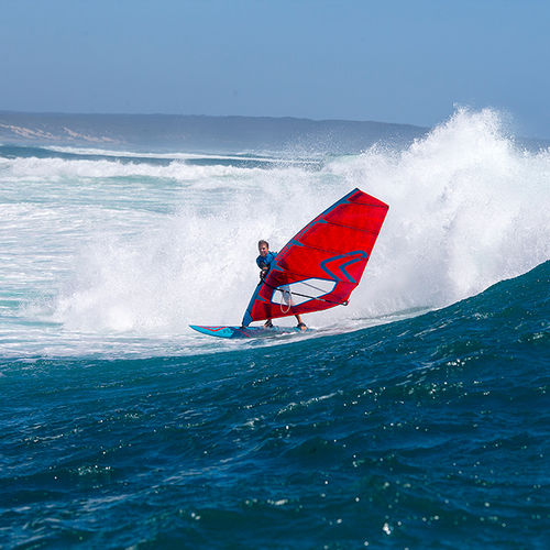 wave windsurf sail / 5-batten