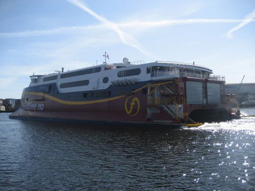 high-speed car ferry