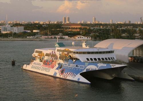 high-speed car ferry