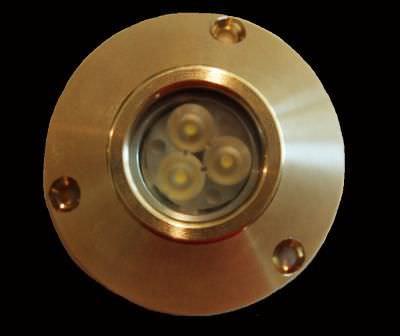 underwater boat light / LED / surface-mount / for fiberglass hulls