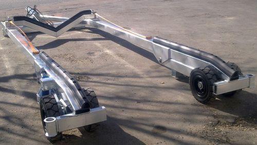 handling trailer / shipyard / pad / hydraulic