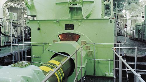 ship electric generator