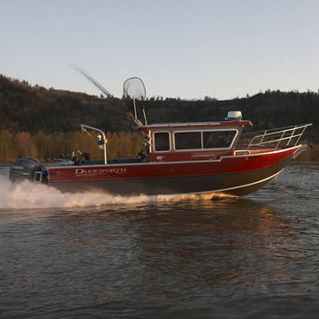outboard cabin cruiser / hard-top / offshore / sport-fishing