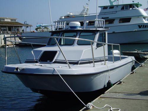 outboard cabin cruiser / sport-fishing / 3-berth
