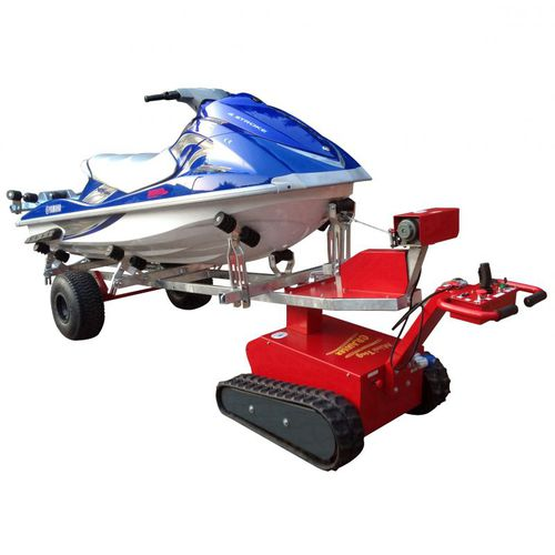 electric boatyard towing tractor