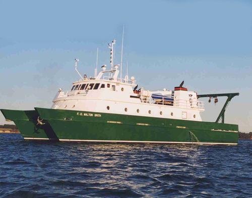 catamaran oceanographic research ship