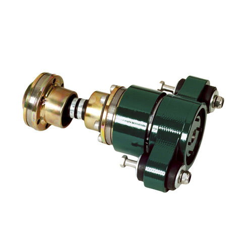 flexible mechanical coupling / for boats / for shafts / anti-vibration