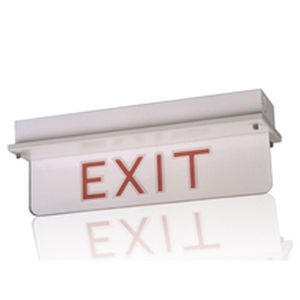 ship emergency exit sign
