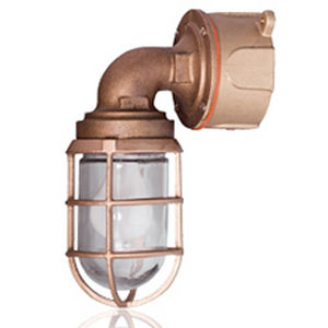 outdoor wall light / for ships / wall-mount / stainless steel