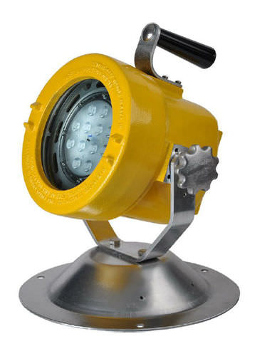 deck floodlight / for hazardous areas / for ships / LED