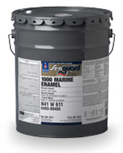 professional vessel coating / for ships / high-gloss / single-component