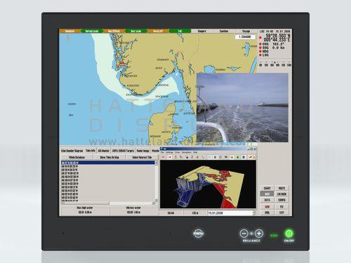 ship display / multi-function / navigation system / PC
