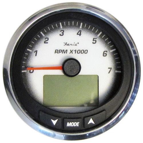 boat indicator / speed / analog / engine