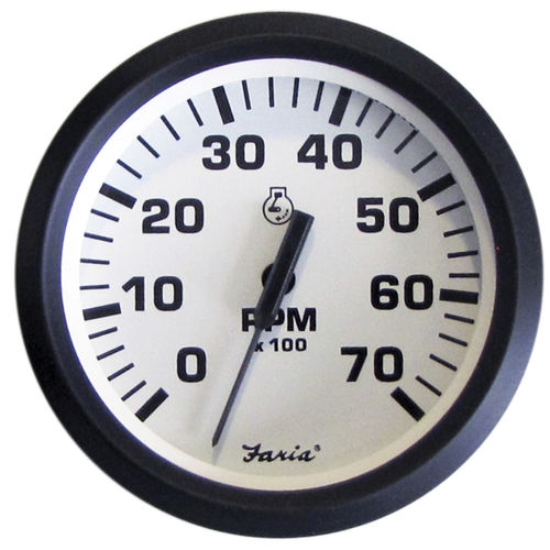 analog tachometer / for boats
