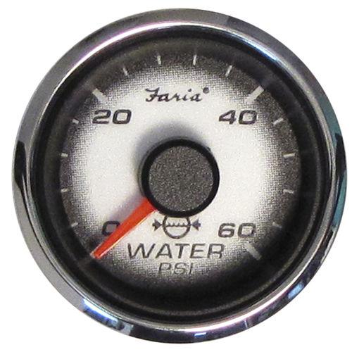 boat indicator / water pressure / analog / engine