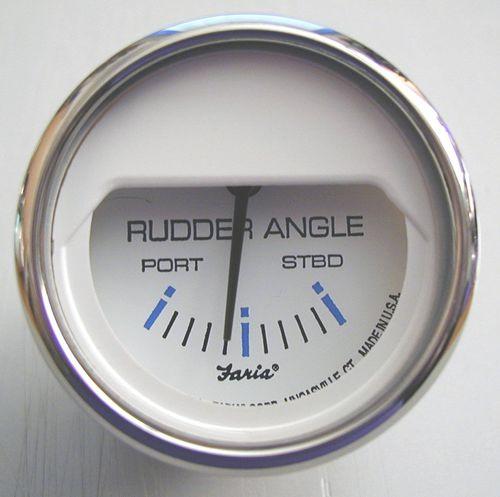 boat indicator / rudder angle / analog