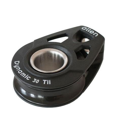 ball bearing block / single / lashing / max. rope ø 8 mm