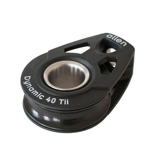 cheek block / ball bearing / single / lashing
