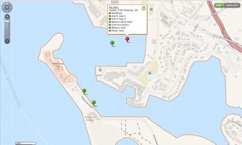 fleet management software / for marinas / for boat rental companies