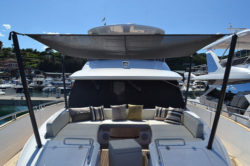 yacht awning pole - Exit Carbon