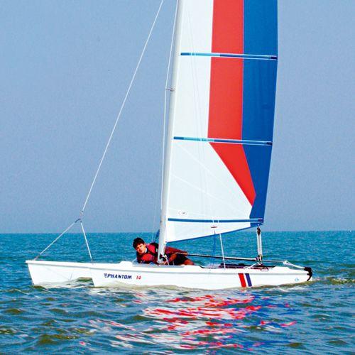 instructional sport catamaran / recreational / single-handed