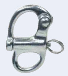snap shackle with eye / halyard
