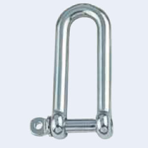 shackle for sailboats with captive pin