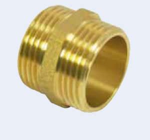 brass plumbing fitting
