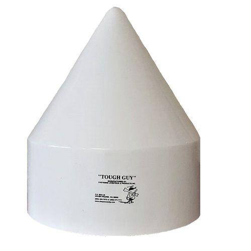 fiberglass pile cap / for docks