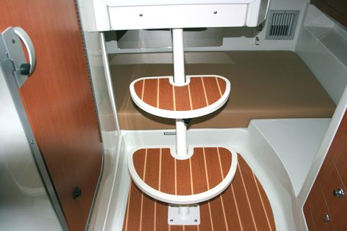 plastic boat step