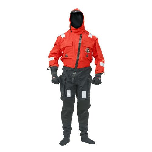navigation drysuit / full / other / men's